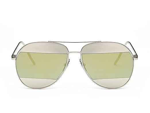 DZW Polaroid gafas de sol de color de la película hombres y gafas de sol de las mujeres tres tendencias de la moda , green: Amazon.es: Ropa y accesorios
