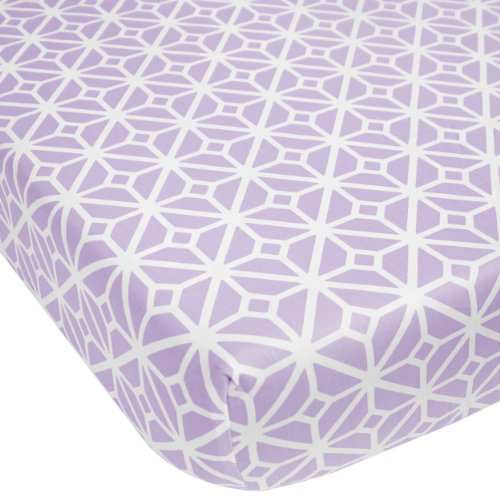 UPC 680601158852, CoCaLo Mix & Match Lattice Fitted Sheet, Violet
