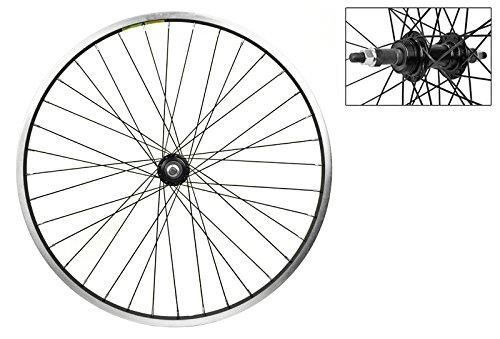 Wheel Master Rear Bicycle Wheel 24 x 1.75 36H, Alloy, Bolt O