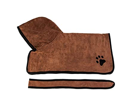 Toalla De Baño Para Mascotas Para Pequeños Medianos Grandes Perros Gatos Ultra-Absorbente De Microfibra