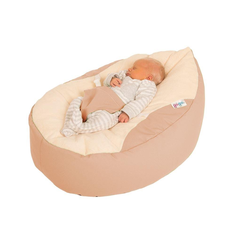rucomfybeanbags Luxury Cuddle Soft Gaga Baby Sitzsäcke (Leinen)
