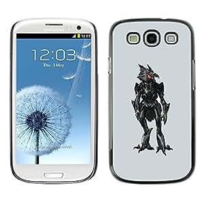 NUMO Premium slim Aliminium Casa Carcasa Funda Case Bandera Cover Armor Shell / Evil Robotic Chicken Robo / Samsung Galaxy S3