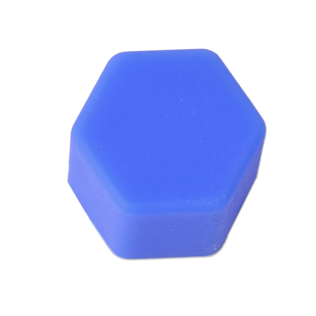 20pcs Universal 17mm Silicone Car Wheel Lug Nut Bolt Cover Protective Tyre Valve Screw Cap Antirust Blue