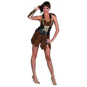 Disfraz adulto Mujer Guerrera - talla M: Amazon.es: Juguetes y juegos