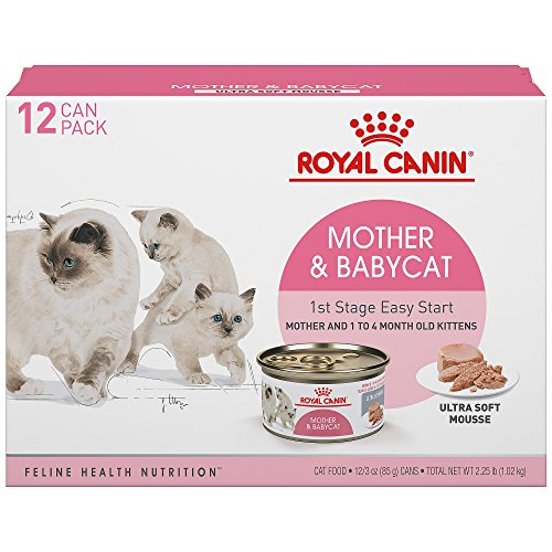 Royal Canin 175012 Feline Health Nutrition ultra soft mousse Canned Cat Food (12 Pack), 3 oz