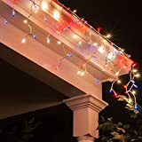 Outdoor Patriotic Lights - Red, White and Blue