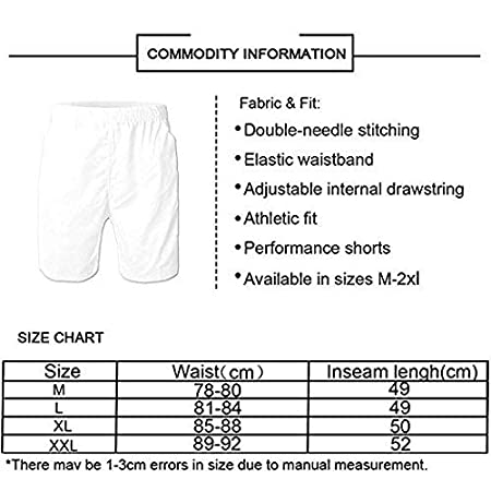 K-Dark Romantic White Unicorns Mens Summer Surf Board Short Swim Trunks Bathing Suit