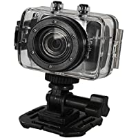 Vivitar DVR783 Waterproof HD Action Camcorder (Black)