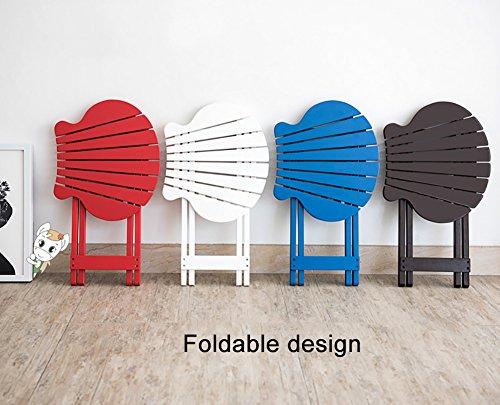 ZJM- Fan-Shaped Flower Shelf Foldable Flower Pot Rack (Color : Blue) by Flower stand (Image #3)