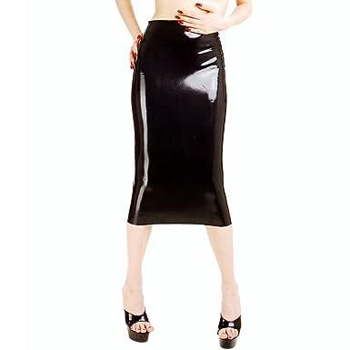Rubber spanking skirt