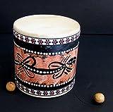 Djembe Drum - Small Drum - Damaru Hand Drum, Mini Drum, Professional Sound - JIVE BRAND