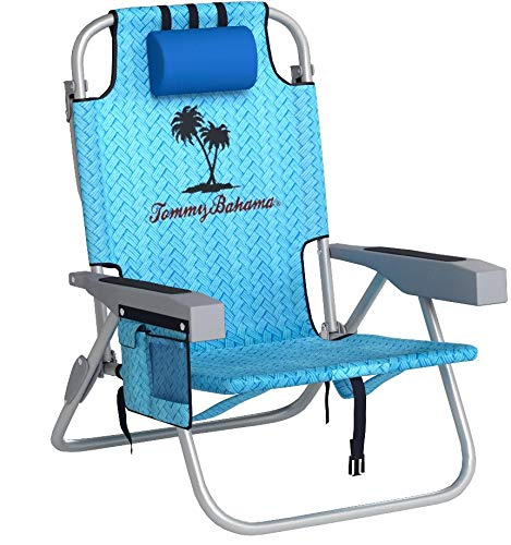 Tommy Bahama Backpack Cooler Chair (Navy Blue)