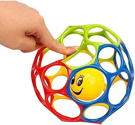 Queta Bola de Bola de Bola Multicolor para Bebés de 0 a 3 Años de ...