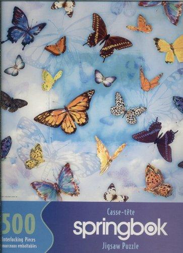 Springbok 500 Piece Puzzle Butterlies PZL 2001