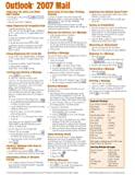 Microsoft Outlook 2007 Mail Quick Reference Guide (Cheat Sheet of Instructions, Tips & Shortcuts - Laminated Card)