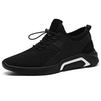 SHANGWU Zapatillas Ligeras Voladoras para Hombres Zapatillas Informales De Moda Casual Transpirable Zapatillas Deportivas De Viento para Hombres Zapatos De ...