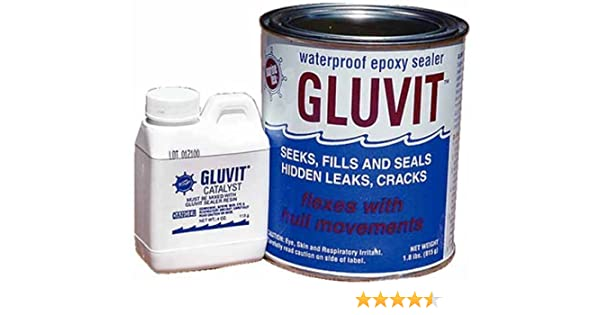 Amazon.com : Marine Tex RM330K Gluvit Epoxy Sealer Quart Made by Marine Tex : Sports Outdoor : Sports & Outdoors