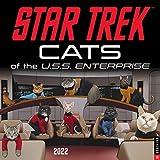 Star Trek: Cats of the U.S.S. Enterprise 2022 Wall