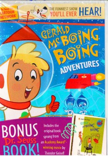 Gerald McBoing Boing Adventures DVD with Bonus - Gerald McBoing Boing Dr.Seuss (Boing Cat)