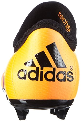 adidas X 15.1 FG/AG J, Botas de Fútbol Unisex Bebé Naranja / Negro / Rosa (Dorsol / Negbas / Rosimp)