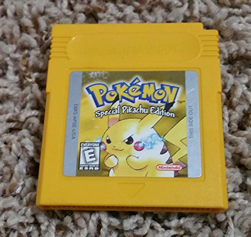 Pokemon Yellow Version Special Pikachu Edition Game [Game Boy] NEW SAVE (Pokemon By Color)