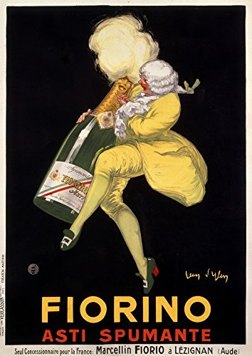 Fiorino - Asti Spumante Vintage Poster (artist: d'Ylen) France c. 1922 (24x36 Collectible Giclee Gallery Print, Wall Decor Travel (Asti Spumante)