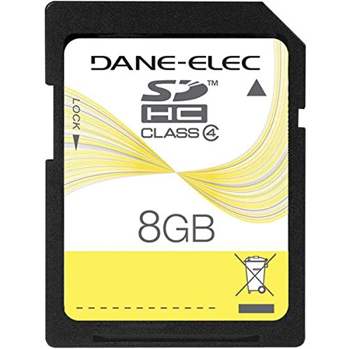 Dane-Elec 8GB Secure Digital High Capacity (SDHC) Card