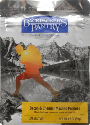 Backpacker's Pantry Bacon Cheddar Mashed Potatoes, Two Serving Pouch