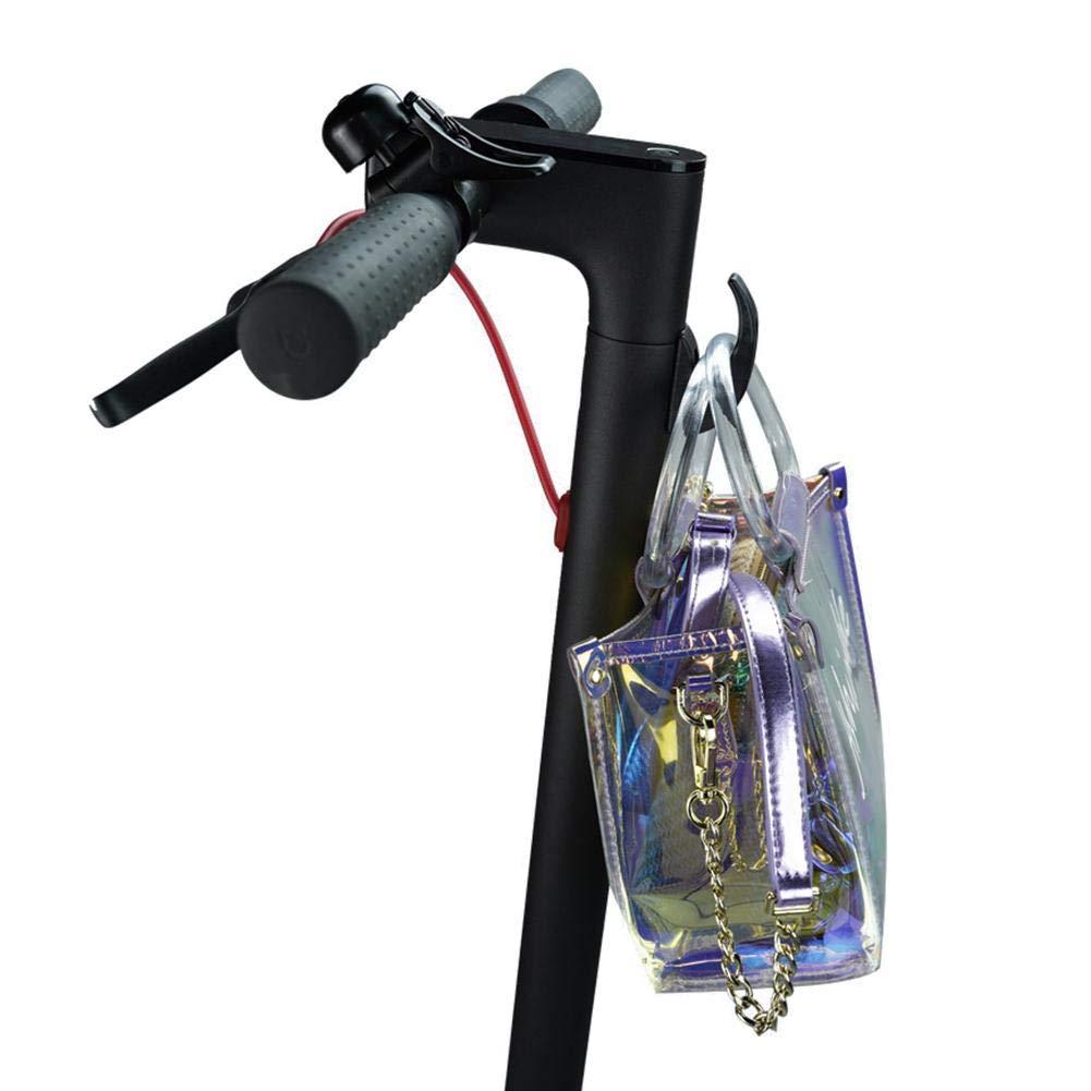 S/úper Capacidad de Carga Scooter Gancho Delantero Mini Gancho Bolsas de Casco Garra Gadget DIY Herramientas del monopat/ín Botella Equipaje Portaequipajes para Xiaomi Mijia M365 Scooter el/éctrico