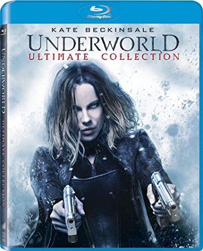 Blu-ray : Underworld/ Underworld: Awakening/ Underworld: Evolution/ Underworld: Bloodwars/ Underworld: Riselycans (Boxed Set, Ultraviolet Digital Copy, , 5 Disc)
