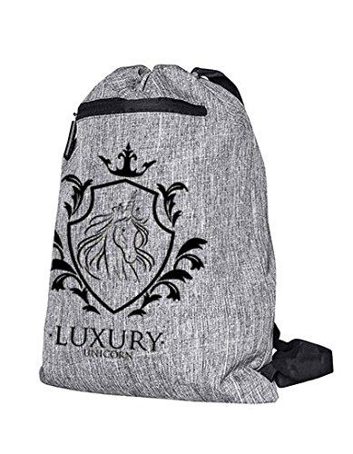 Mein Zwergenland Jutebeutel Luxury Unicorn, 14 L