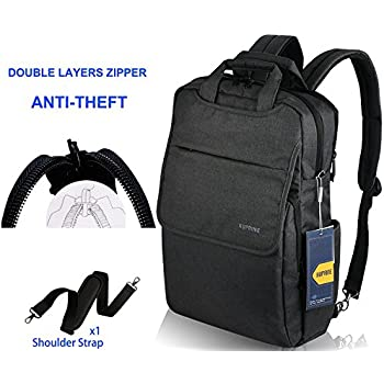 Amazon.com: Lapacker Business Travel Lightweight Laptop Backpack ...