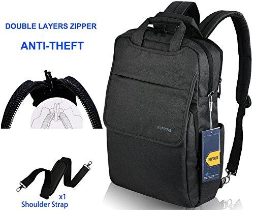 KUPRINE 14-15.6 inch Travel Business Slim Computer/Laptop Backpack for Men&Women, Lightweight Anti Theft College Backpacks for Laptops (Best 15 Laptop)