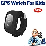 Kids GPS tracker Wrist Smart Watch With Calling and Multi-Functions Children Safe Security / SOS Surveillance / Pedometer / Remote Power Off / Alarms Anti-lost for Children and Sim-card support Compatible with all Smartphones / Androids / IOS By Jiyanshi