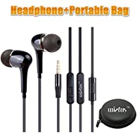 CheckOut Headphone/earphone, Wietus™ 3.5mm Stereo In-ear Noise-isolating Headphones with Mic+ Portable Mini Round Hard... occupation