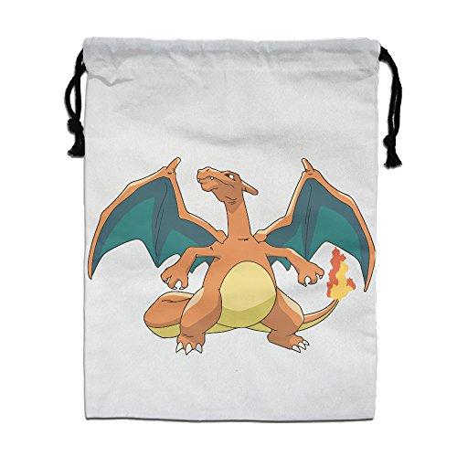 reusable-pokemon-go-ball-cute-charizard-bag-shoulder-drawstring-drawstring-backpack-white-one-size