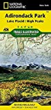Lake Placid, High Peaks: Adirondack Park (National Geographic Trails Illustrated Map) by National Geographic Maps - Trails Illustrated (2012-01-01)
