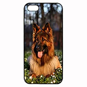 German Shepherd Dog Pattern Image Protective iphone 6 4.7 Case Cover Hard Plastic Case for iphone 6 4.7