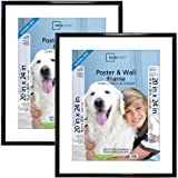 Mainstays 20x24 Trendsetter Poster and Picture Frame Black Set of 2