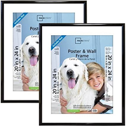 Amazoncom Mainstays 20x24 Trendsetter Poster And Picture Frame