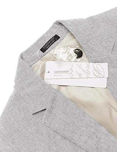 COOFANDY Men's Casual Sport Coats Lightweight Suit Blazer Business Jackets