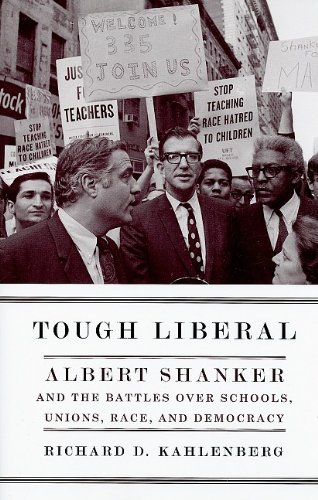 Image result for Tough Liberal Al Shanker
