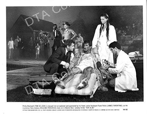 Movie Photo Her Alibi 1989 Tom Selleck James Farentino B W Still Fn