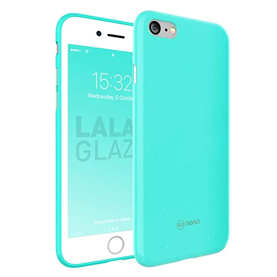 iPhone 7 Plus Case, iPhone 8 Plus Case, Sparkling Silicone Design with Drop Protection, Soft Airframe and Anti-Slip Grip. Ultra Slim Premium Fit Case ...