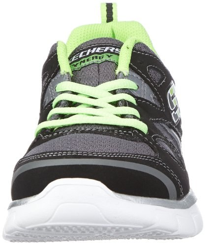 Skechers SynergyZeal Jungen Sneakers Schwarz (Bklm)