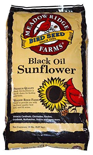 (Meadow Ridge Farms Black Oil Sunflower Mix - 20 lbs)