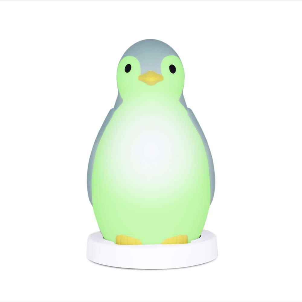 Amazon.com : Zazu Kids Pam The Penguin Sleep Trainer and Night Light ...