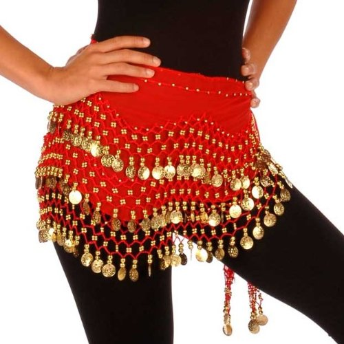Wholesale Lots of 10 Bellydance Hip Scarf - NC