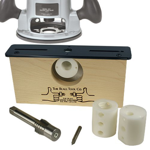 Beall Basic 3 Size Wood Threading Kit