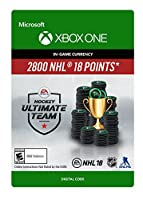 NHL 18 Ultimate Team NHL Points 2800 - Xbox One [Digital Code]